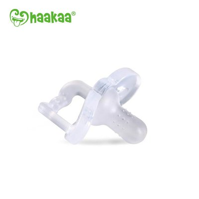 Silicone New Born Dummy - Clear