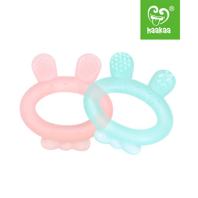 Silicone Rabbit ear teether