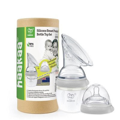 Gen.3 Haakaa kolf & drinkfles opzetstuk Set - 160ml