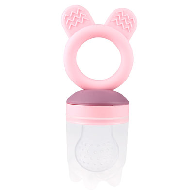 Fresh food teether - 2 in 1 - zachtroze